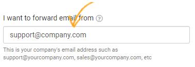 Customer facing email