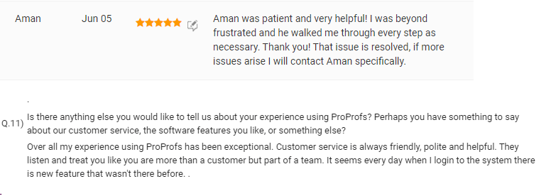 Customers With Courteous Support