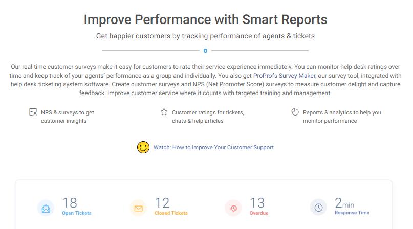 Improve Performance Report