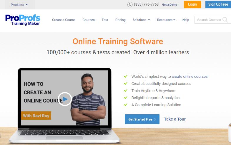 Online Tranning Software
