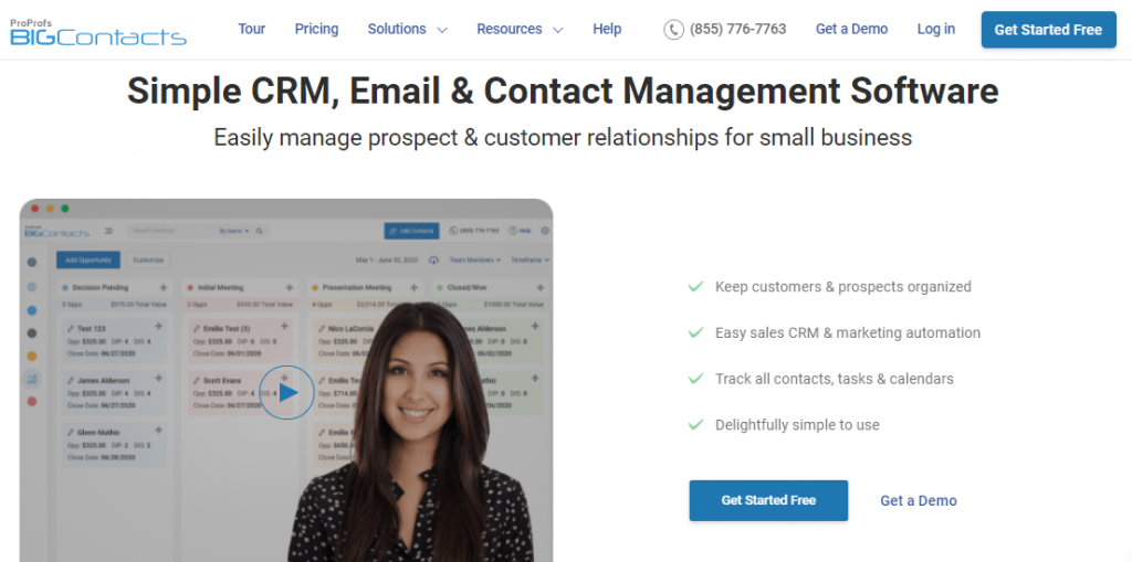 BIGContacts engaging omnichannel customer experience
