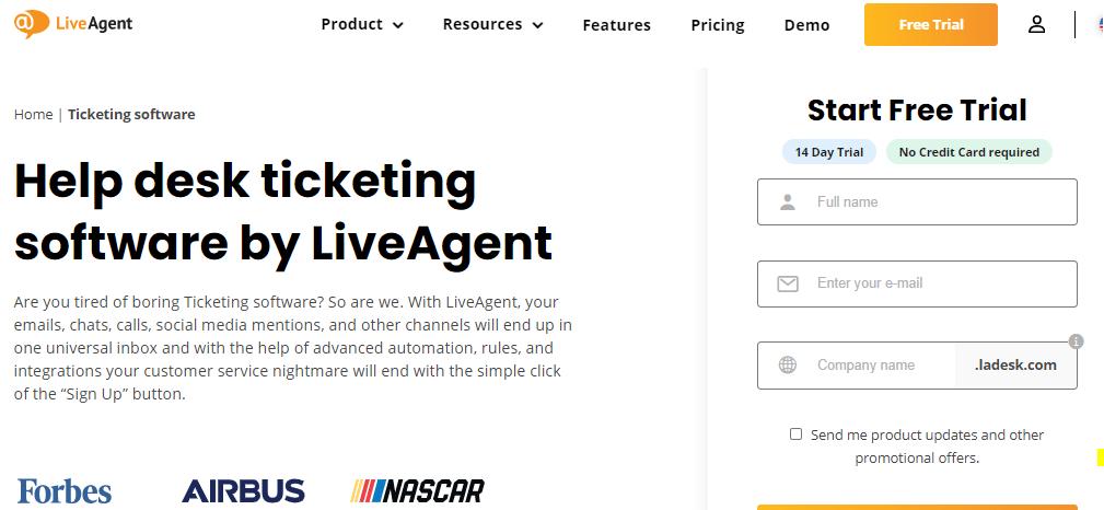LiveAgent  helpscout alternative