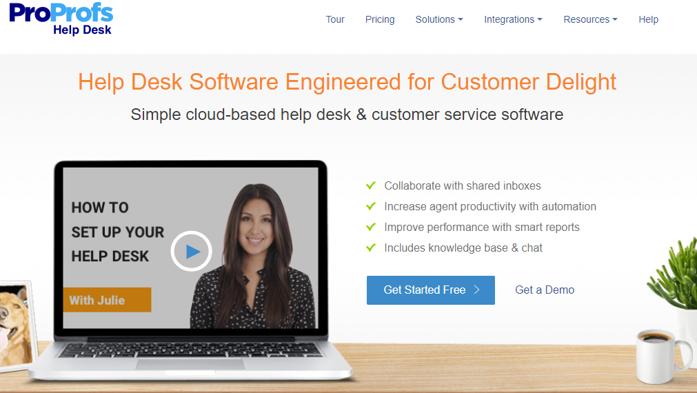 ProProfs help desk tool build omnichannel customer experience