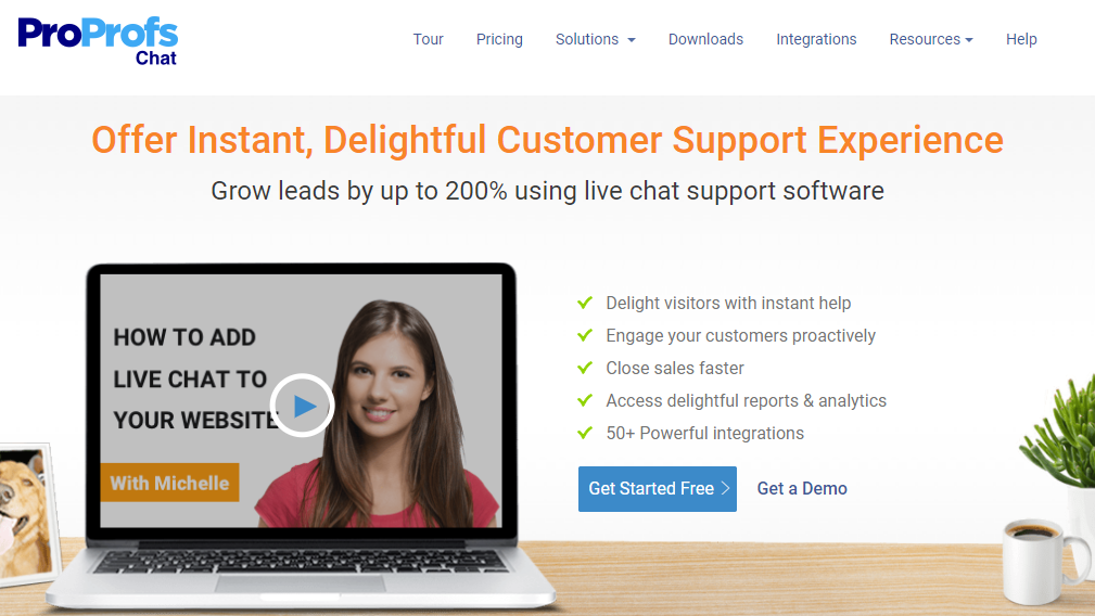 ProProfs live chat tool build omnichannel customer experience