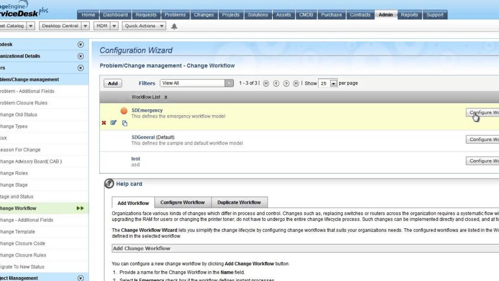 ServiceDesk Plus help desk tool