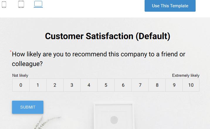 Share Real-time Customer Surveys