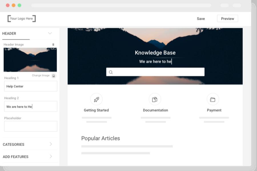 Self-Service Portal or Knowledge Base