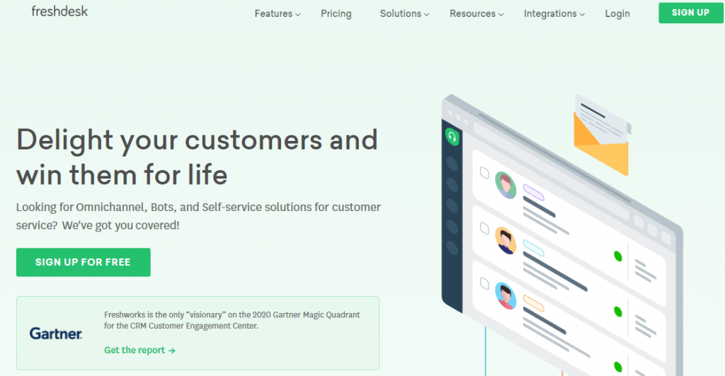what is freshdesk software