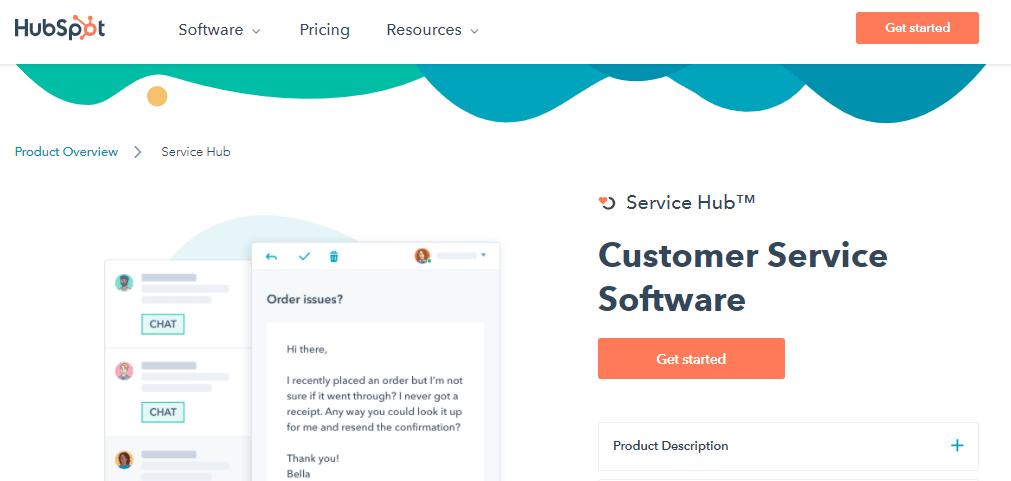 HubSpot Service Hub help desk tool