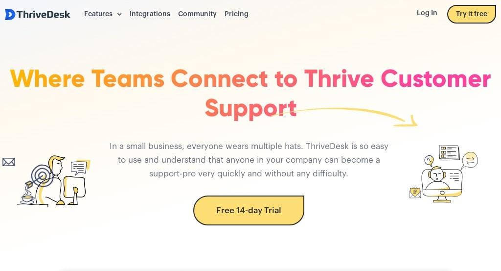 ThriveDesk is a simple, affordable Freshdesk alternative