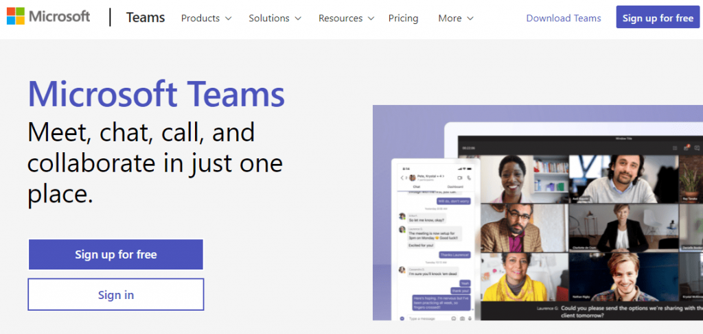 Microsoft Teams is a popular group chat and video communications platform