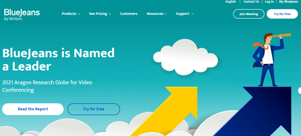 BlueJeans is a cloud-based video conferencing tool