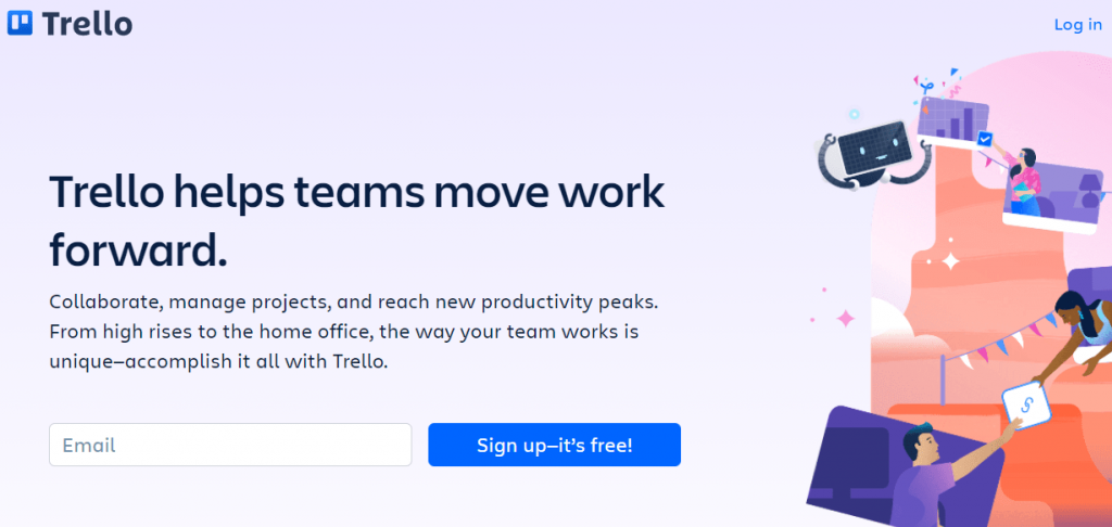 Trello is one of the most popular collaboration tools for remote teams