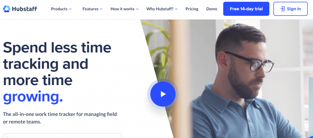 Hubstaff is an all-in-one work time tracking software