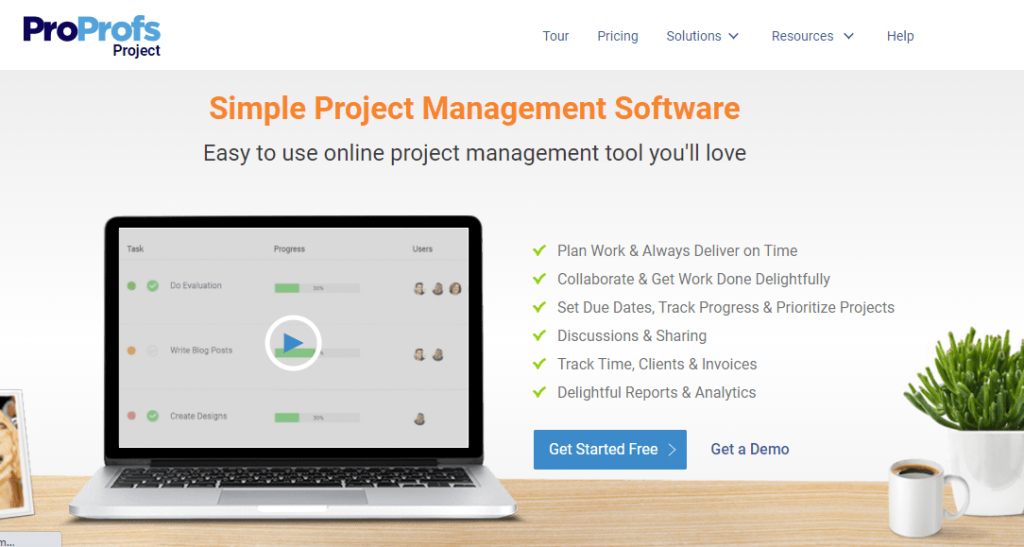 Best remote working tool project management tool