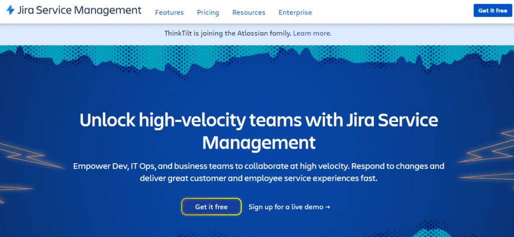 JIRA is best IT management software