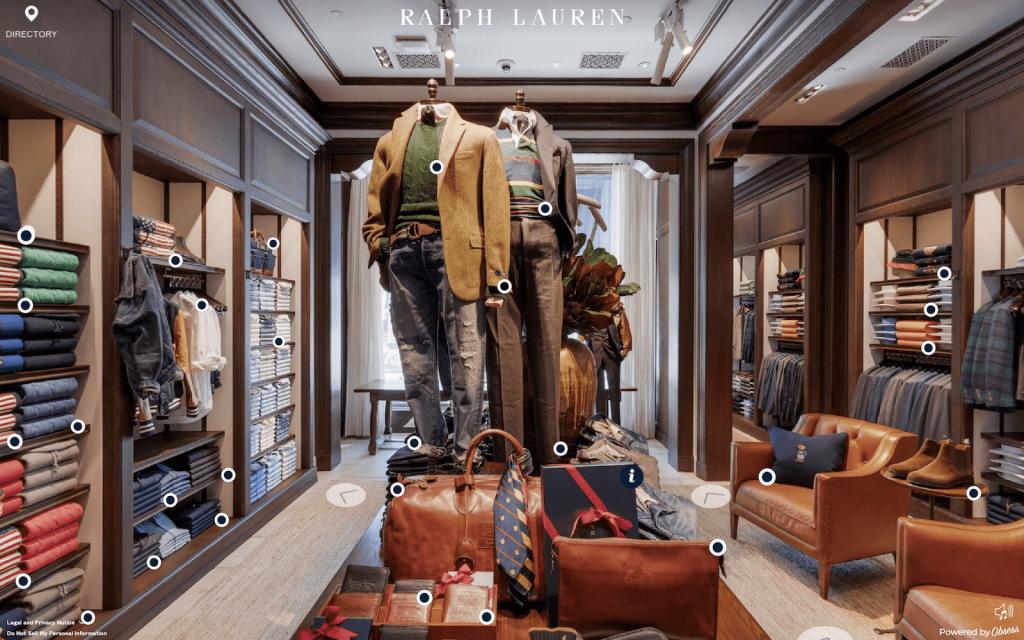 Ralph Lauren's Virtual Stores Make Shopping Fun Again