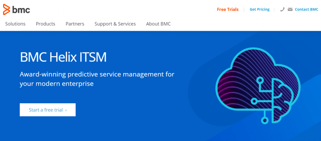 BMC Helix ITSM is an industry-leading service management tool