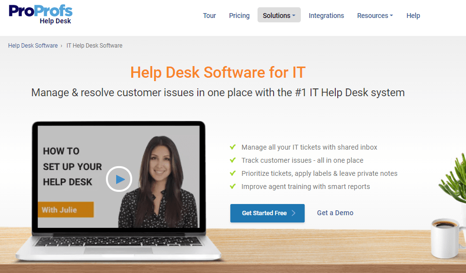 ProProfs Help Desk is one of the best alternatives to Freshservice tool