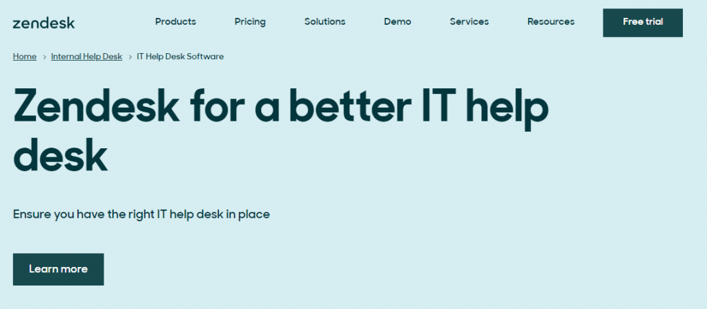 Zendesk is one of the most popular Freshservice alternatives