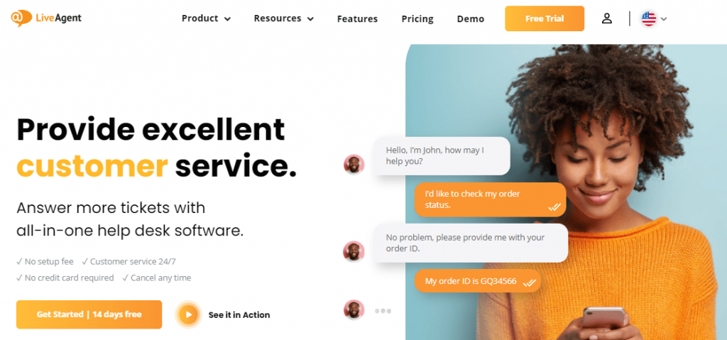 LiveAgent is another popular Vision Helpdesk competitor