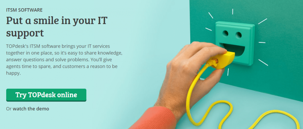 TOPdesk is an intuitive alternative to Freshservice
