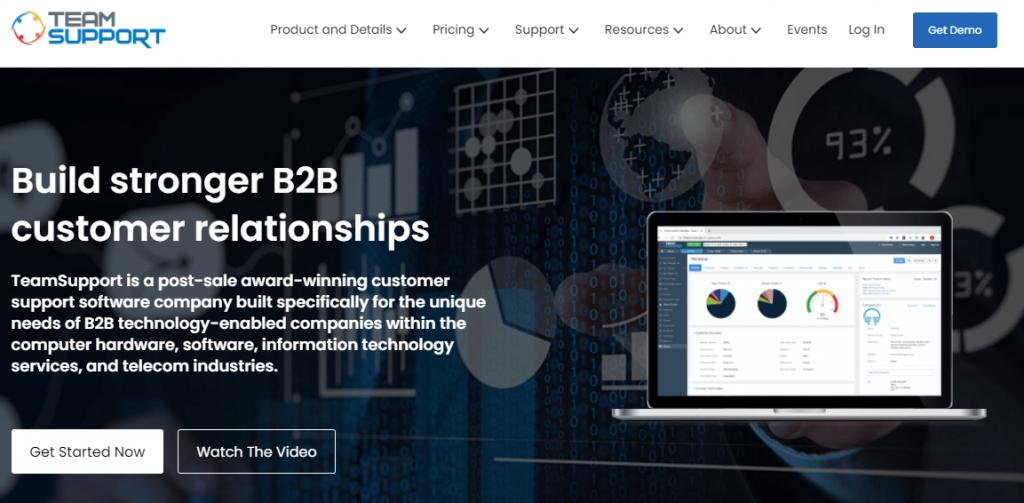 TeamSuport  customer service software