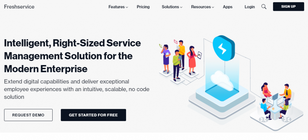 What is Freshservice software