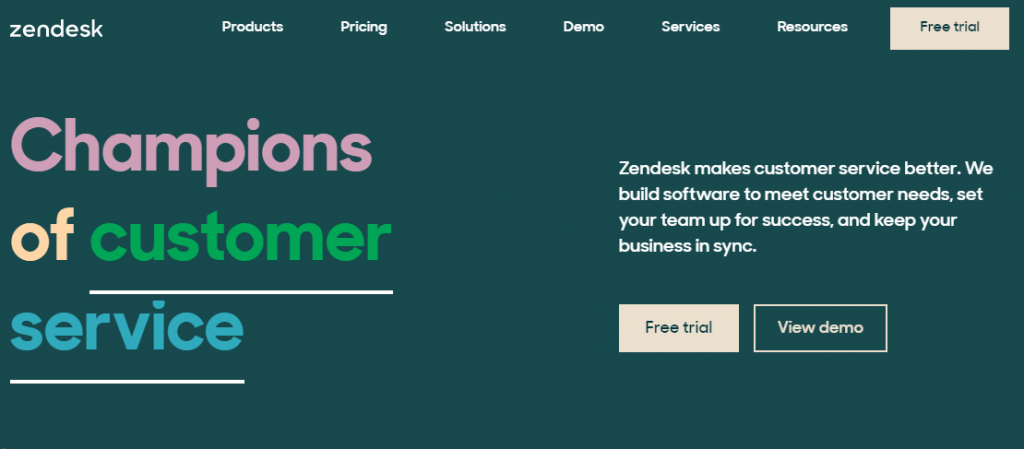 Zendesk is undoubtedly one of the most popular alternatives to HelpDesk