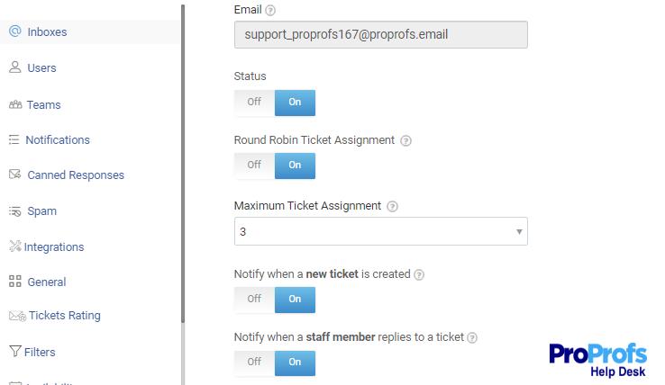 Round Robin Ticket Assignment